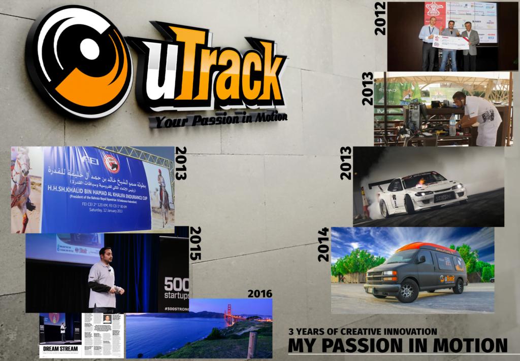 uTrack 3 Years Story